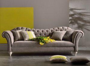 Τριθέσιος και Διθέσιος καναπές Gemma