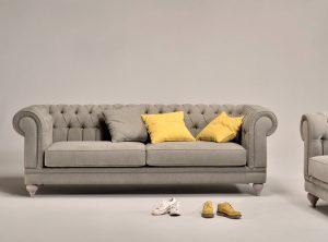 Τριθέσιος και Διθέσιος καναπές Luisa