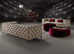 Τριθέσιος και Διθέσιος καναπές SILA
